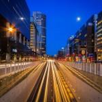 Lighttrails @ Rotterdam