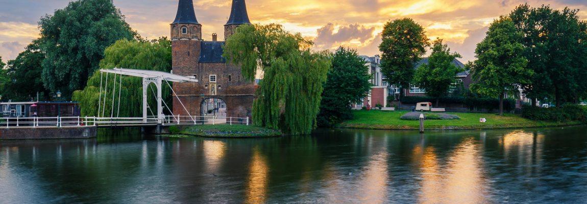 De Oostpoort van Delft