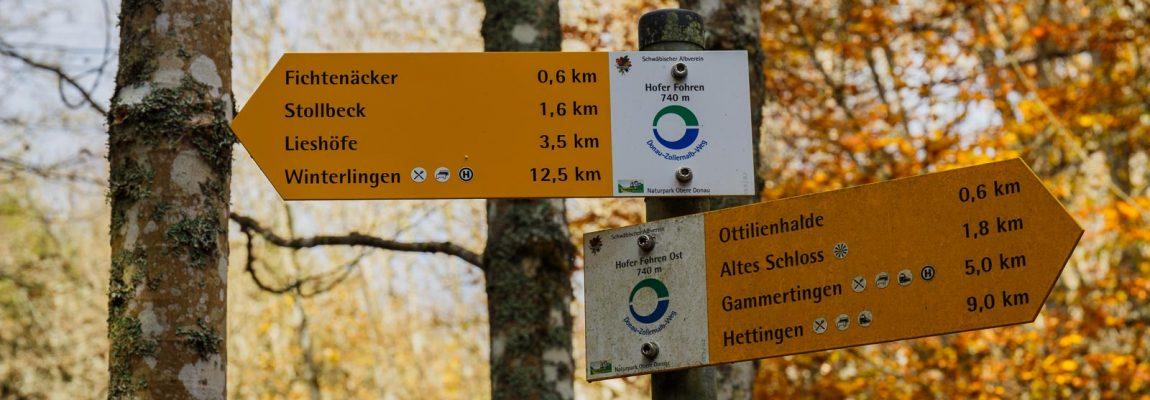 Wandelen over de Donau-Zollernalb-Weg – deel 2
