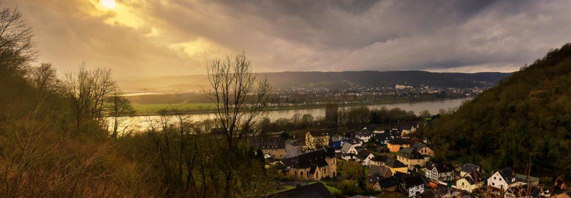 Rheinsteig: de derde etappe, van Bad Honnef naar Linz am Rhein